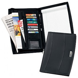 A4 Leather folders with Slots