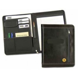 Leather Padfolio with Notepad