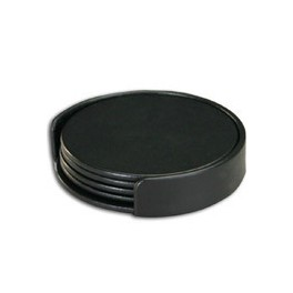 Leather Coasters Round