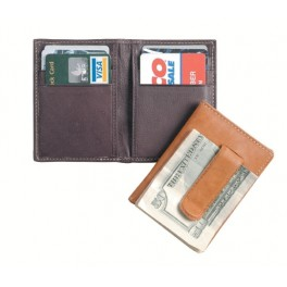 Slim Card Case with Money Clip