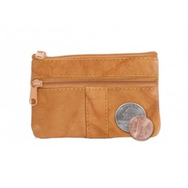 Cowhide Coin Purse