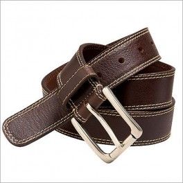 Full Tanned Leather Belt with custom design