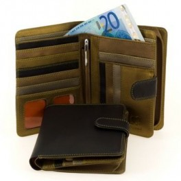 Mens Long leather wallets