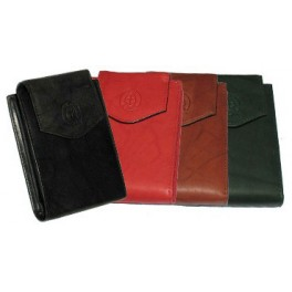 Bi-Fold JG Hook Leather Wallet