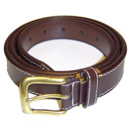 Single Stitch Leather Belt. Bulk Leather Belts