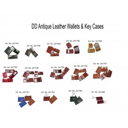 Antique Wallets and Key cases