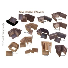Wild Hunter Wallets Leather