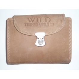 Ladies Leather Wallet with clip.