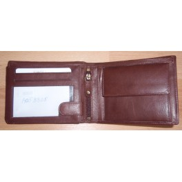 Mens Wallet Horizontal Design Leather