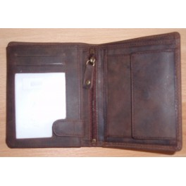 Mens wallet size 9.5 x 12.5 cms - Cow Hunter