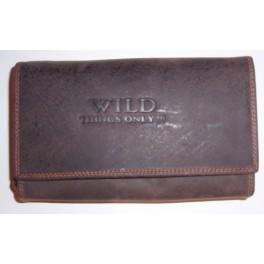 Ladies Wallet - 18 x 10 cms - Multiple card slos with 2 zipper compartments