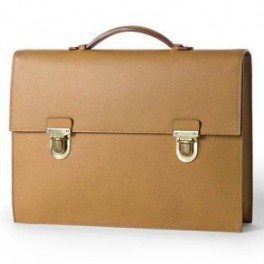 Adel Slim Leather Laptop Case Business bag