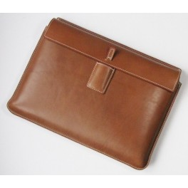 Premium Executive Leather Laptop Sleeve