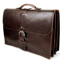 Premium Italian Leather Briefcase and Laptop Bag