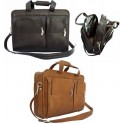 Leather Portfolio and Leather Business Bag