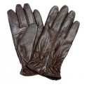 Ladies Leather Gloves With Zipper