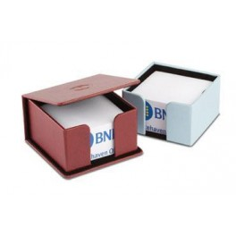 Paper Cube Leather Box