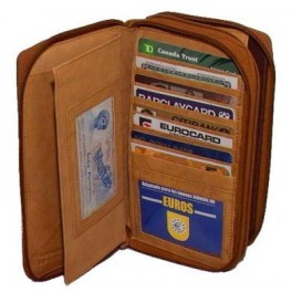 Passport holder with multiple slots