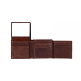 Trifold Cow Hide Leather Wallet