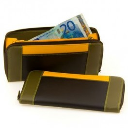 Ladies colourful wallets