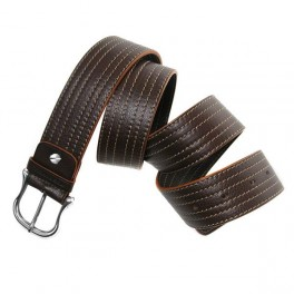 Leather belt with stitching. Bulk Qty Available